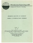 Conference of Microelectronic Research 1989