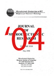 The Journal of Microelectronic Research