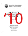Journal of Microelectronic Research 2010